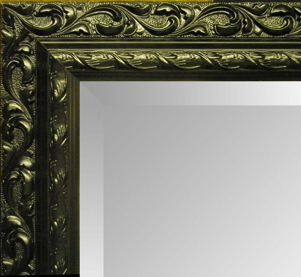 large black decorative mirror. Black Bedroom Furniture Sets. Home Design Ideas