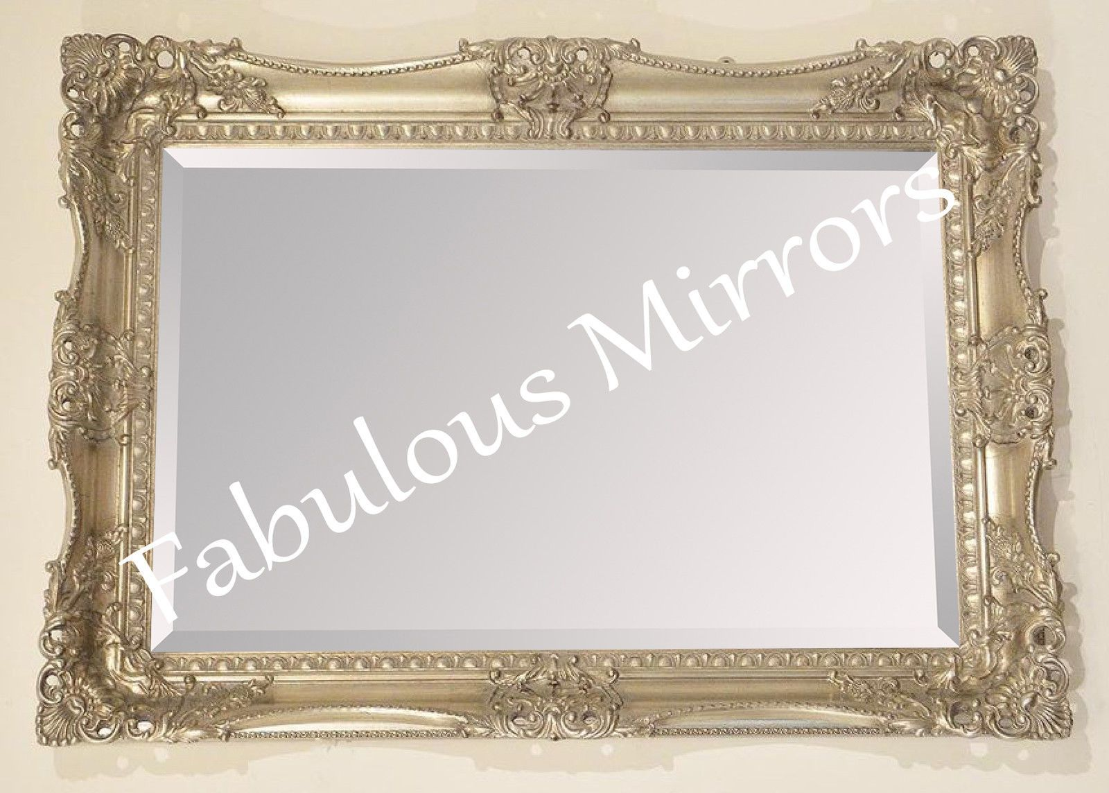 Endearing 40 large silver wall mirror design inspiration for Large silver decorative mirrors