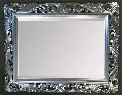 John Lewis Ornate Leaf Wall Mirror 122cm x 91cm Champagne - NEW ...