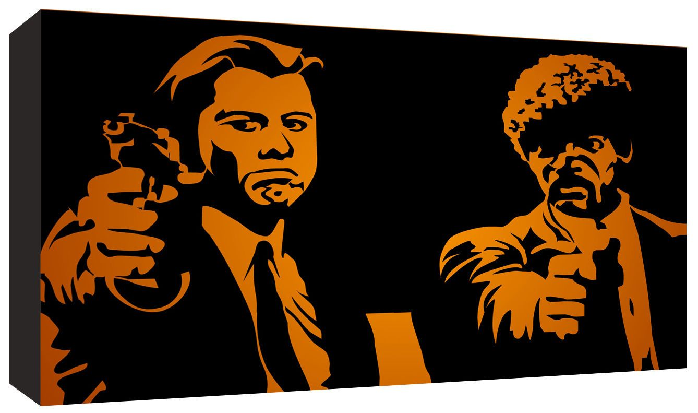 Pulp Fiction Cult Film Movie Canvas Art